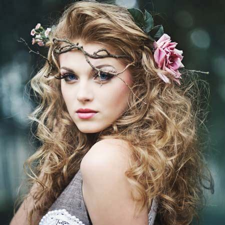 flower girl hairstyles long curly hair 12 vouluminous curly hairstyles for long hair flower