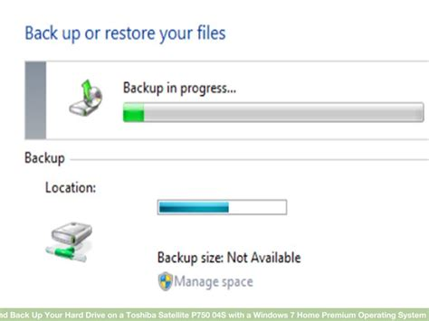how to make a recovery disk and back up your drive on a toshiba satellite p750 04s with a