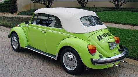 green volkswagen beetle 2016 1974 volkswagen beetle w293 kissimmee 2016