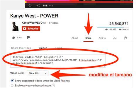 insertar imagenes jpg en html c 243 mo insertar videos de youtube en wordpress 161 en un par