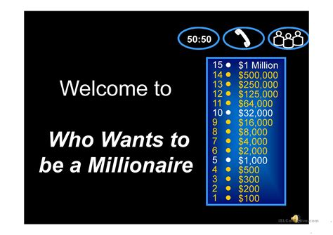 Who Wants To Be A Millionaire Powerpoint Templates Gallery Free Who Wants To Be A Millionaire