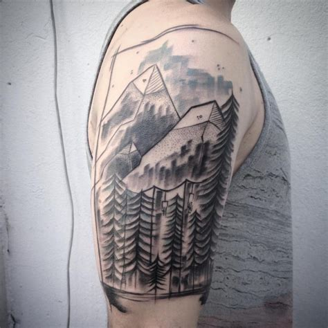 mountain tattoos designs 80 best mountain designs meanings for all ages