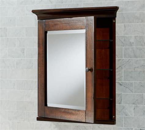 pottery barn medicine cabinet shelves mason recessed medicine cabinet rustic mahogany finish
