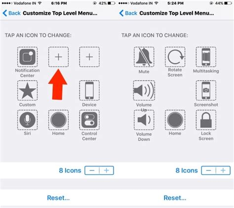 Change or Customize Assistive Touch on iPhone 7, 7 Plus/ 8 ...
