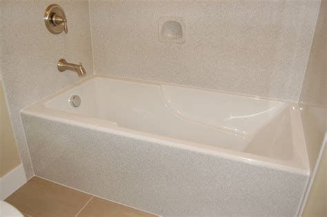 bathtub enclosures ideas diy bathtub surround icsdri org