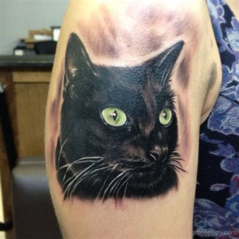 cat tattoo on shoulder cat tattoos tattoo designs tattoo pictures page 11