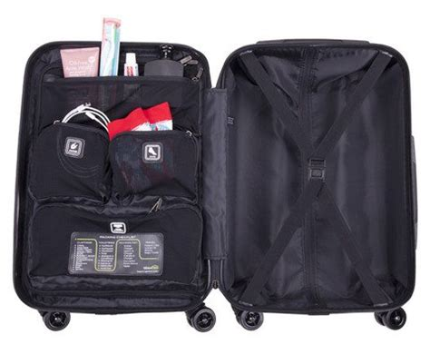 genius pack 21″ hardside spinner carry on bag review – the