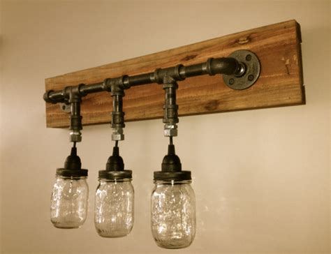 mason jar bathroom light mason jar vanity light mason jar wall light by chicagolights