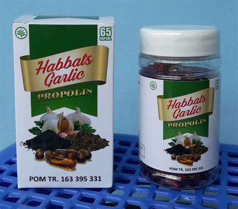 Haba Garlic Al Afiat Kapsul Minyak Bawang Putih Habbatussauda jual kapsul habbats garlic propolis di denpasar bali jual produk herbal di denpasar bali