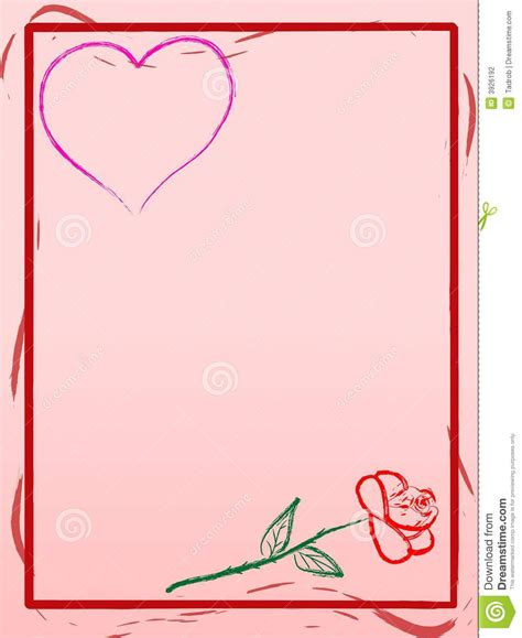 love letter background stock vector illustration