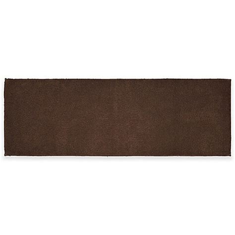 60 Inch Bath Rug Runner Buy Cotton 22 Inch X 60 Inch Bath Rug Runner In Chocolate From Bed Bath Beyond