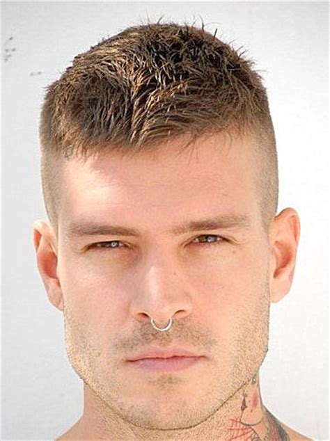 best hair gel for crew cut messy high and tight crew cut that could be grown into an