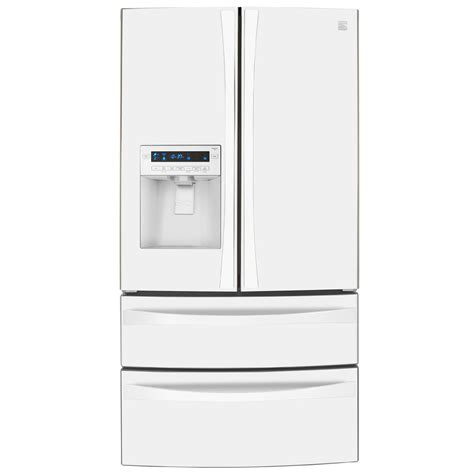 kenmore elite door refrigerator 31 cu ft kenmore elite 72182 31 0 cu ft dual freezer door