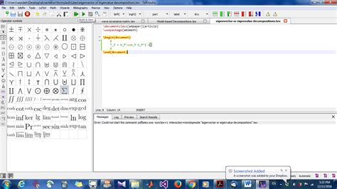imagenes latex pdf pdftex error could not start the command pdflatex exe