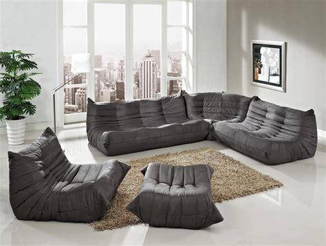 gray modular sectional sofa waverunner modular sectional sofa set in light gray 5