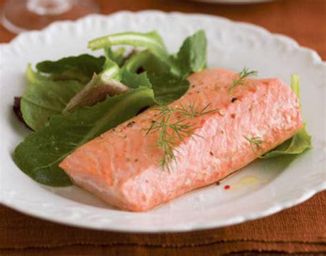 poached salmon recipes simple poached salmon recipe dishmaps