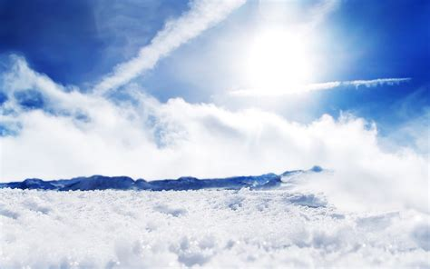 sunny snow wallpapers hd wallpapers id