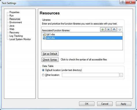 tutorialspoint qtp qtp library files