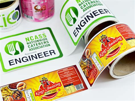 How To Print Sticker Labels printed gloss stickers buy at cheap prices in the uk