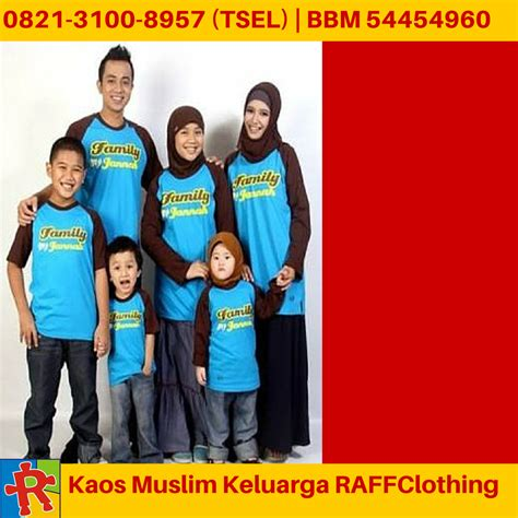 Kaos Keluarga Size Anak Terlengkap Mulai Baby 235 baju muslim keluarga jual baju muslim keluarga 0821 3100 8957 t sel