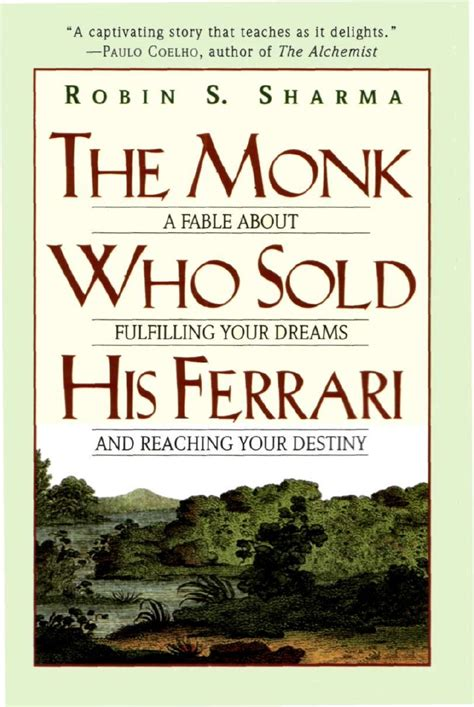 the monk sold his the monk who sold his