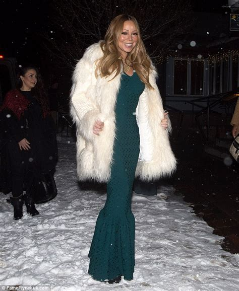 Careys Fur Coat Is Lost In The Mail by Carey Eats With Boyfriend Packer During Aspen