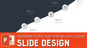 Powerpoint Template Tutorial by Slide Design Tutorial Powerpoint 4 Steps Slide Template