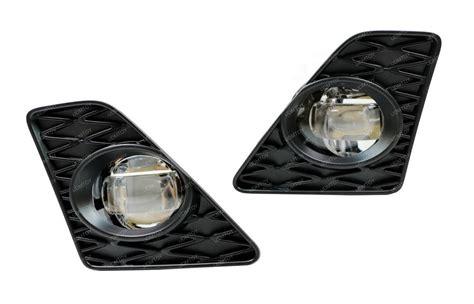 Projieprojector Led Lexus 3 Emiter ijdmtoy 2013 2015 lexus gs f sport cree led fog lights