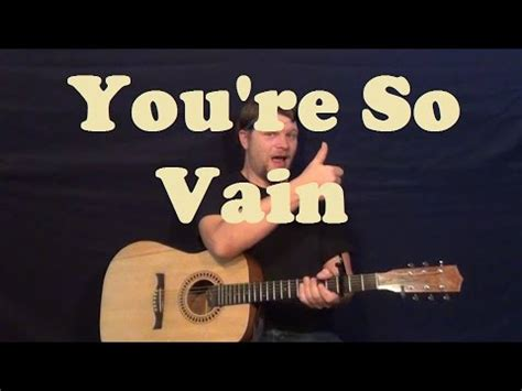 strumming pattern for you re so vain you re so vain carly simon easy guitar lesson how to