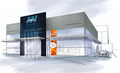 retail design for home improvement center kuwait imaginif