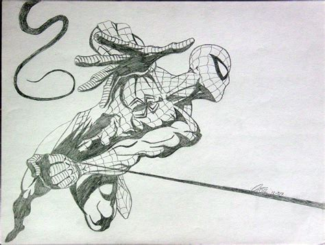 how to draw spiderman swinging spiderman swinging by eso2001 on deviantart