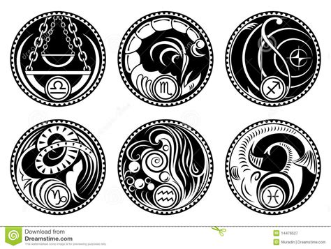 crestock royalty free stock photos vector rounded zodiac icons stock vector image of taurus