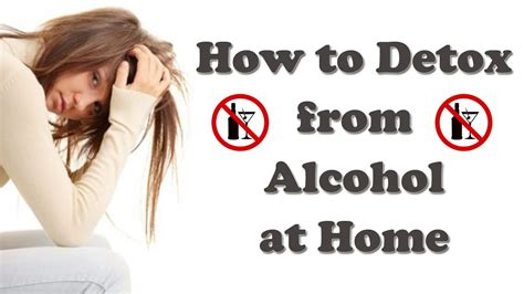 withdrawal how to detox from at home
