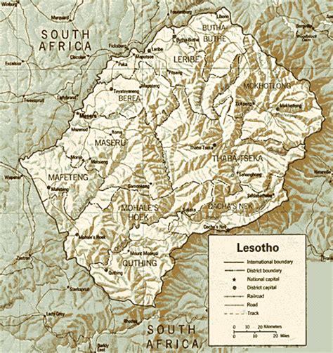 abc maps  lesotho lesotho flag lesotho map lesotho