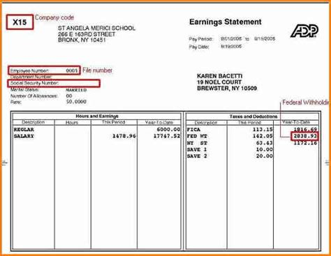 pay stub template excel 6 free pay stub template excel simple salary slip