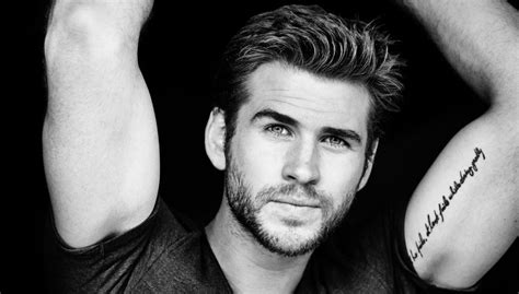 liam hemsworth height weight and body measurements
