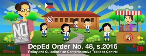 how to deworm a with tobacco department of education