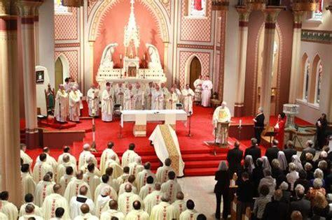 bishop emeritus andrew  mcdonald laid  rest arkansas catholic april