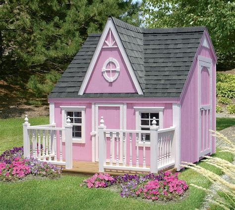 outside playhouse plans kids outdoor victorian playhouse detailed plan pdf plans