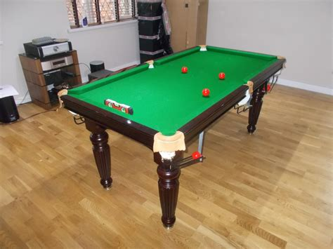 titan 6ft snooker table not so cushion fixings on