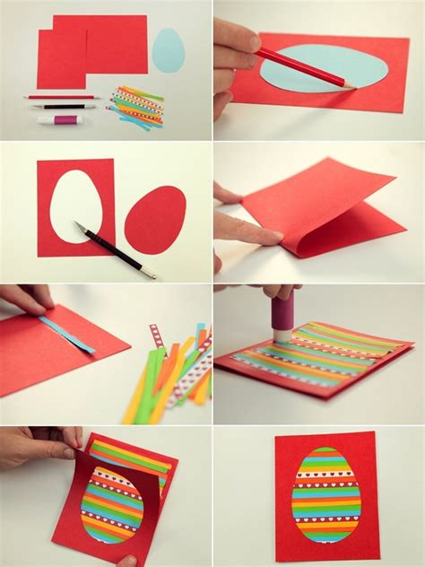 Make Paper Crafts For - easter craft ideas for to make 4 easy diy easter cards