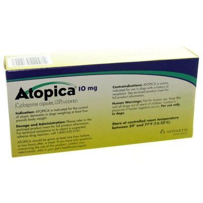 cyclosporine for dogs atopica for dogs cyclosporine for dogs allergy meds vetrxdirect