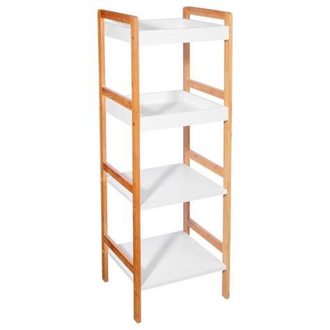 etagere 4 niveaux 201 tag 232 re quot bambou quot 4 niveaux blanc
