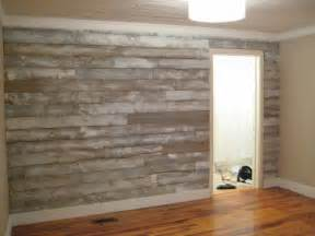wood panel accent wall iron twine