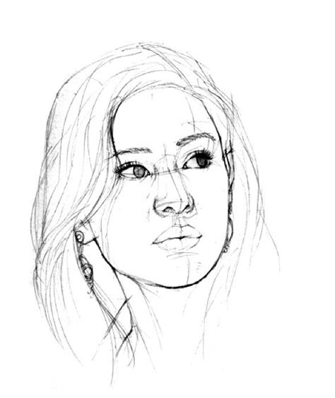 menggambar sketsa