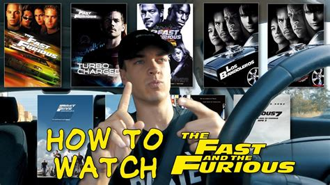 fast and furious movies in order the real order of the fast furious movies youtube