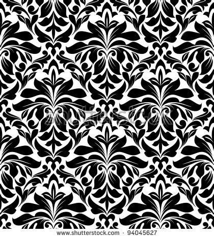 design pattern versioning seamless arabesque backgroundraster version stock