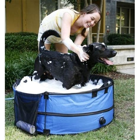 pet bathtub for dogs save 65 on a portable pet bath tub only 35 100 reg