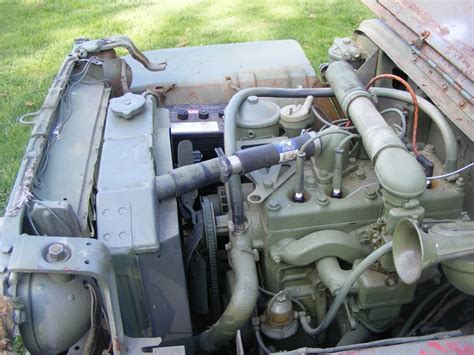 wwii jeep engine got my first wwii jeep a gpw 1942 now with lots o pics