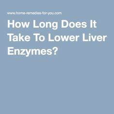 How Does It Take To Detox From by Ways To Lower Liver Enzymes Food Pyramid Detox And